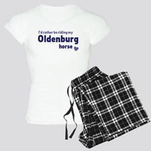 Oldenburg horse pajamas