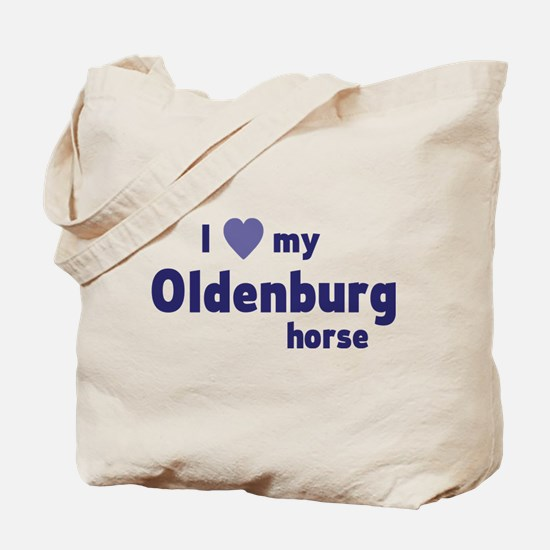 Oldenburg horse Tote Bag