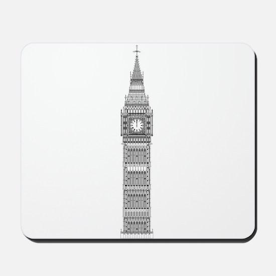 Big Ben at Midnight Mousepad
