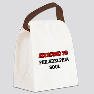 Addicted to Philadelphia Soul Canvas Lunch Bag