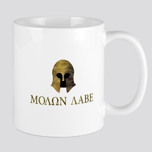 Molon Labe, Come and Take Them (camo version) Mugs