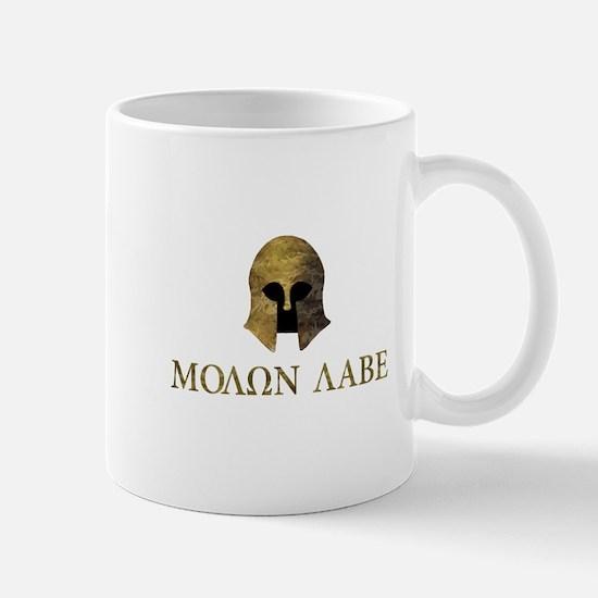 Molon Labe, Come and Take Them (camo version) Mugs