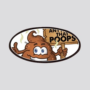 I Don't Eat Anything that Poops Patch