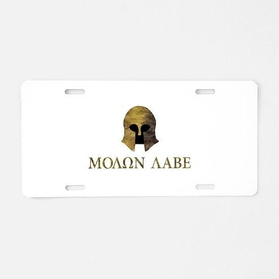 Molon Labe, Come and Take Them (camo version) Alum
