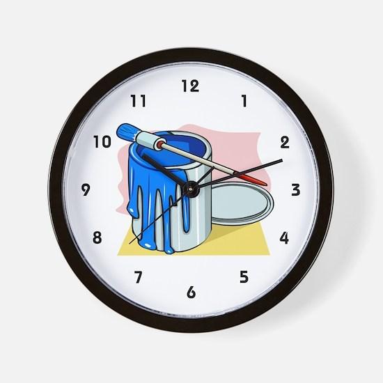 House Painter Wall Clock