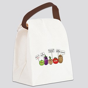 Plants Tho Canvas Lunch Bag