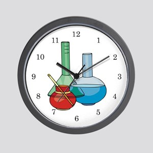 Lab Tech Medical Technologist Wall Clock