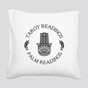 TAROT READINGS Square Canvas Pillow