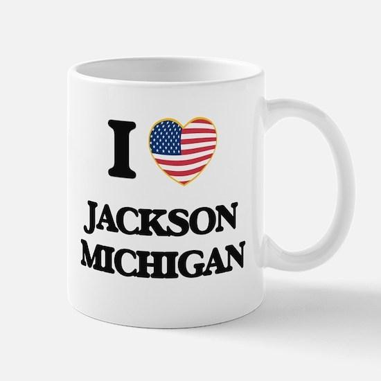 I love Jackson Michigan Mugs