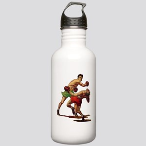 Vintage Sports Boxing Stainless Water Bottle 1.0L