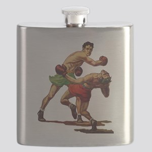 Vintage Sports Boxing Flask