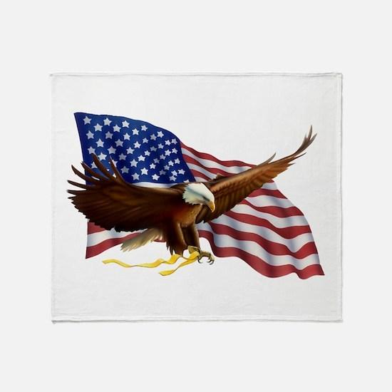 Cute Eagles Throw Blanket