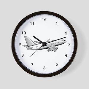 Flight Engineer Wall Clock