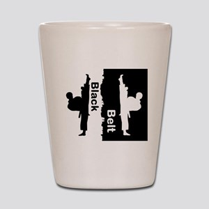 Black Belt Ripped Shot Glass