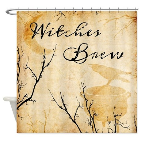 Witches Brew Shower Curtain By Grovehollowgraphics