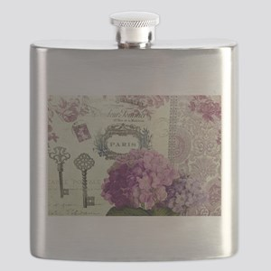 Letters from Paris Flask