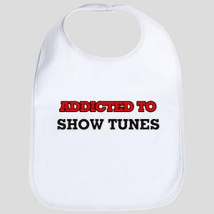 Addicted to Show Tunes Bib