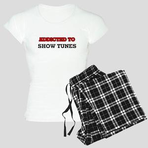 Addicted to Show Tunes Women's Light Pajamas