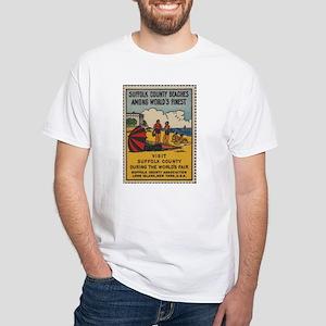 Long Island NY Beaches T-Shirt