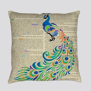 Magnificent Colored Feathers * Everyday Pillow