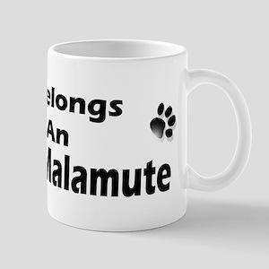 My Heart Alaskan Malamute Mug