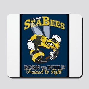 SEABEES Born To Build Mousepad