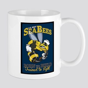 SEABEES Born To Build Mugs