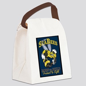 SEABEES Born To Build Canvas Lunch Bag