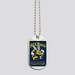 SEABEES Born To Build Dog Tags