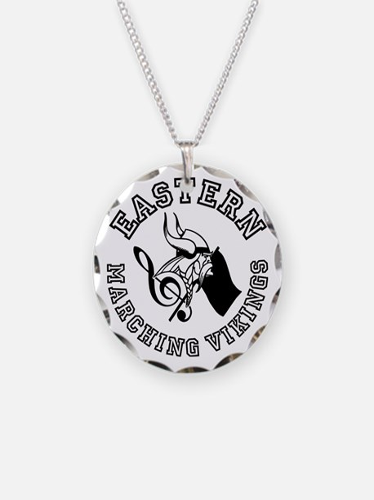 Evba Logo In Black Necklace