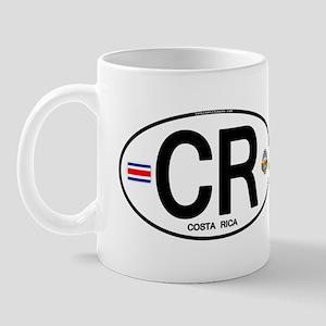 Costa Rica Euro Oval Mug