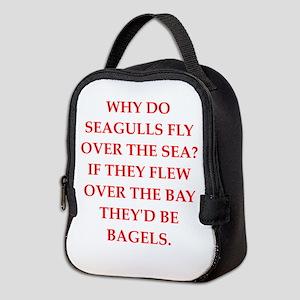 seagulls Neoprene Lunch Bag