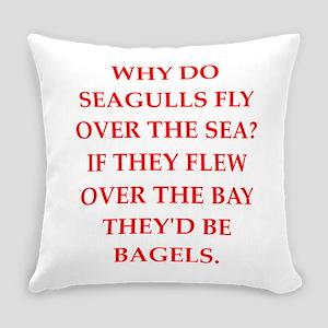 seagulls Everyday Pillow
