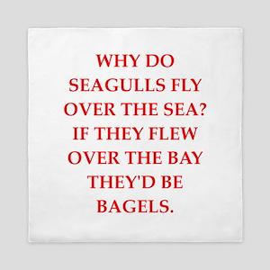seagulls Queen Duvet