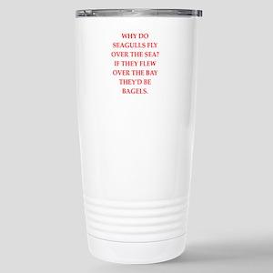 seagulls Travel Mug