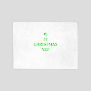 christmas 5'x7'Area Rug