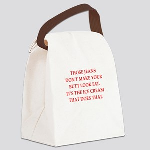 fat Canvas Lunch Bag