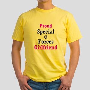 Special Forcs Girlfriend Yellow T-Shirt