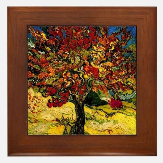 Mulberry Framed Tile