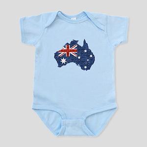 sequin australian flag Body Suit