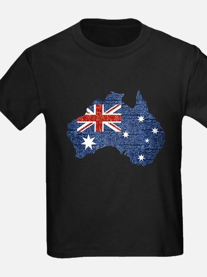 sequin australian flag T-Shirt