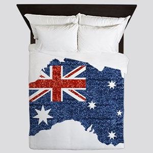 sequin australian flag Queen Duvet