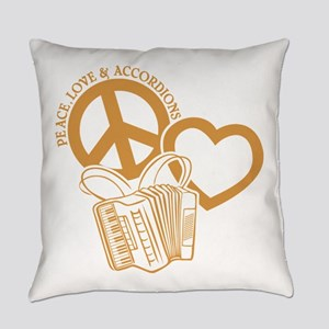 ACCORDIONS Everyday Pillow