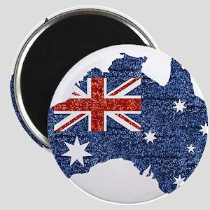 sequin australian flag Magnets
