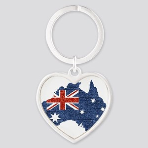 sequin australian flag Keychains