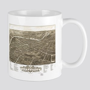 Vintage Pictorial Map of Youngstown Ohio (188 Mugs