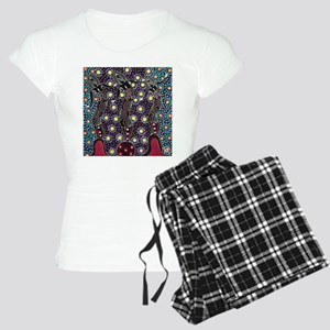 AUSTRALIAN ABORIGINAL ART_FERTILITY Pajamas