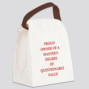 degree Canvas Lunch Bag