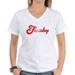 Freaky Women's V-Neck T-Shirt