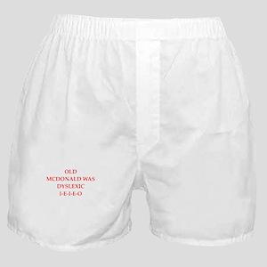 dyslexic Boxer Shorts